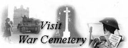 Go to british war cemetery in Syracuse